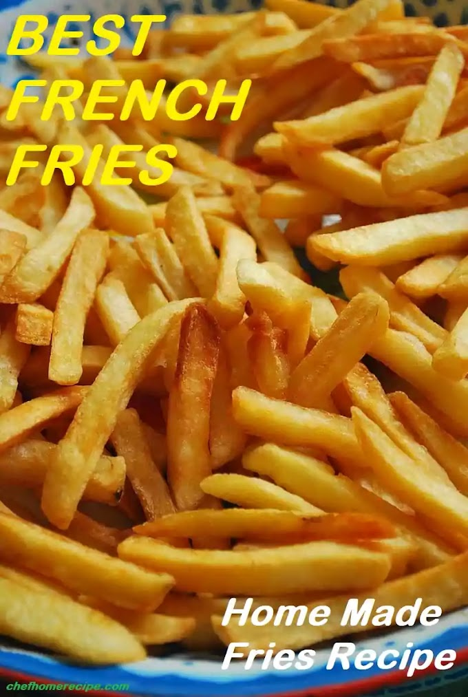 Best French Fries Recipe | Homemade French Fries Recipe