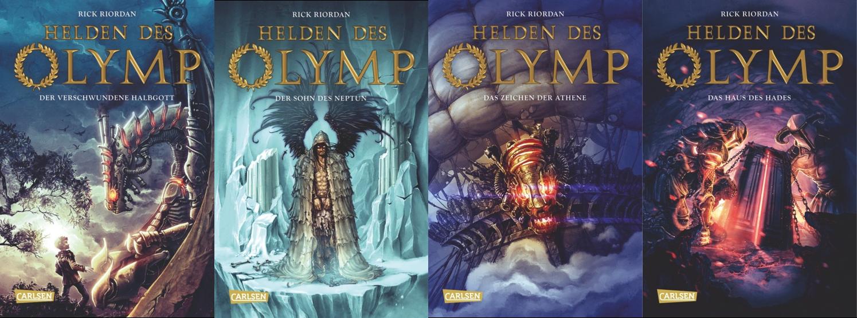 neueste kaufen besserer Preis für Qualität und Quantität zugesichert ♥Lunas Leseecke♥: Rezension Helden des Olymp - Der ...