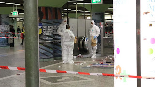 Кровавая резня в немецком Франкфурте