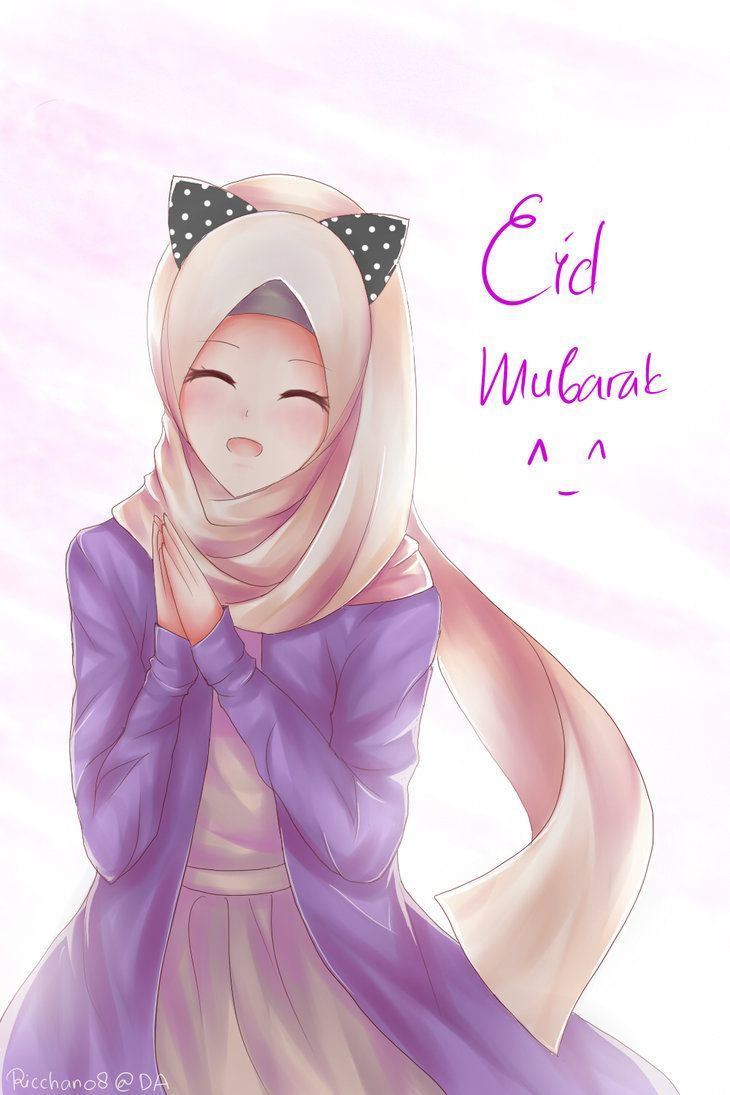 Kartun Muslimah Lucu HD Neko