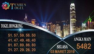 Prediksi Togel Hongkong Selasa 03 Maret 2020