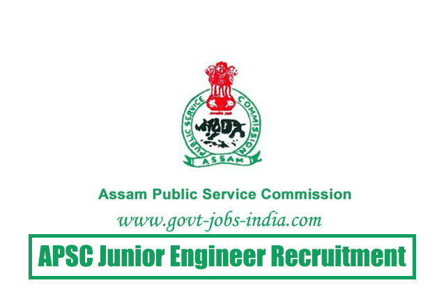 APSC JE AE Recruitment 2020 – 567 Junior Engineer & Assistant Engineer Vacancy – Last Date 16 June 2020