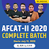 AFCAT II 2020 Complete Batch | Bilingual | Live Class