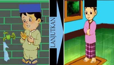 Setelah membaca doa sehabis wudhu langsung melanjutkan sholat sunnah wudhu