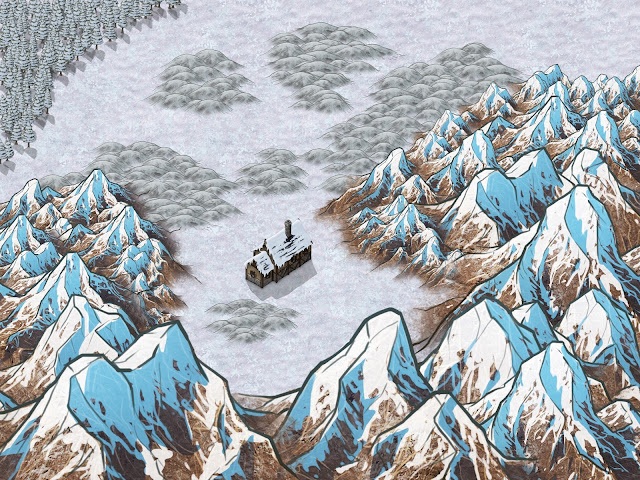 Aventura de Halloween para Dungeons & Dragons - Naturaleza Muerta - Cuadro Nevado