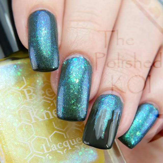 Bee's Knees Lacquer Sylph over The Wild Hunt