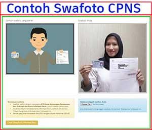 Swafoto CPNS adalah