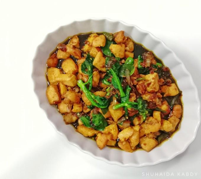Resepi  Ayam Masak Phad Kra Phao