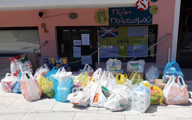 Συγκινητική συμμετοχή στην δράση του ΣΥΡΙΖΑ Ναυπλίου για συγκέντρωση τροφίμων και ειδών πρώτης ανάγκης
