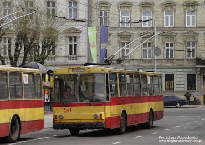 Škoda 14Tr #541, Lwów