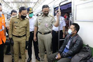 DKI Kirim Bus Sekolah Untuk Angkut Penumpang KRL