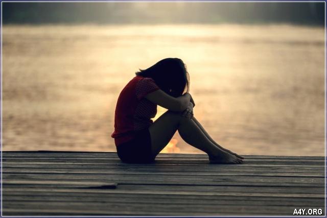 buồn khóc nhớ về anh