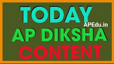 AP DIKSHA Content of the Day 02.03.2021