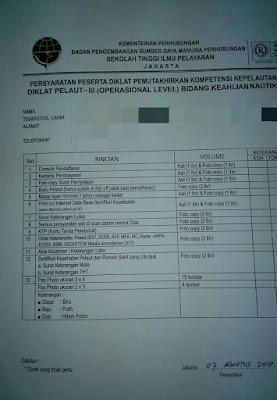 Syarat Updating Ijazah ANT III Operational