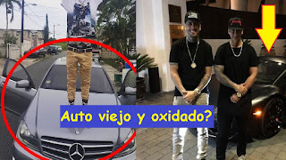 autos de los reggaetoneros