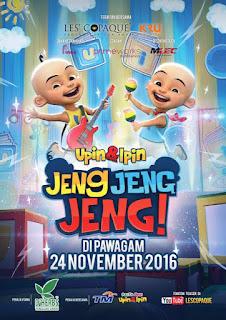 Upin Dan Ipin : Jeng Jeng Jeng! (2016)