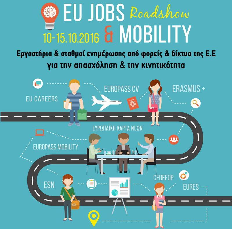 Το 1ο European Jobs & Mobility Roadshow στην Αλεξανδρούπολη
