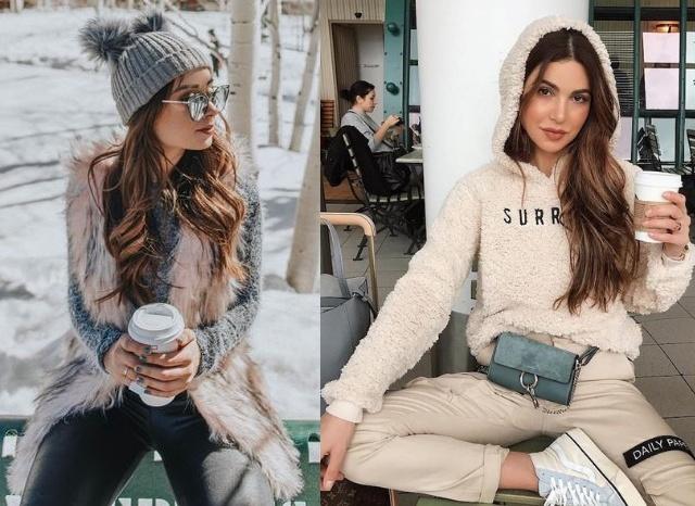 Looks de inverno 2019 Agatha Braga, Negin Mirsalehi
