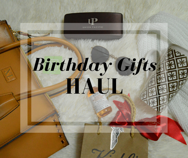 Seize Your Style!: Haul: My Birthday Gifts