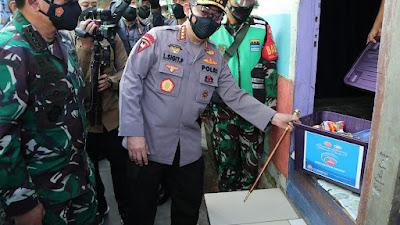 Instruksi Kapolri ke Jajaran saat PPKM Level 4: Akselerasi dan Pastikan Bansos Tepat Sasaran