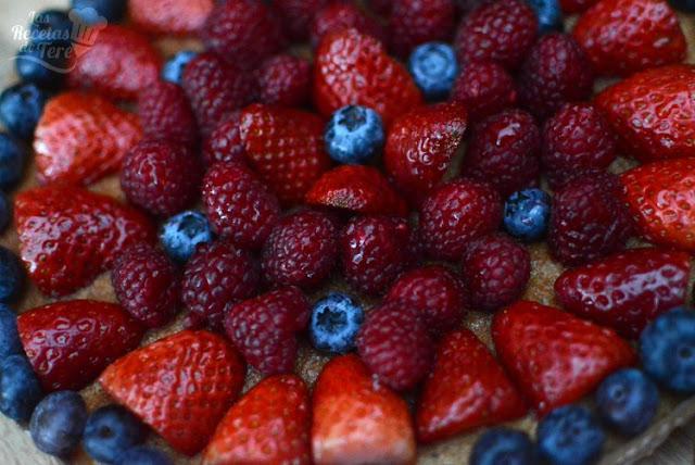 Postre fácil tartaleta de frutos rojos 04