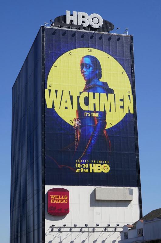 Giant Watchmen HBO series billboard