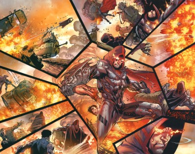 Destruction by Zod in Superman: Earth One