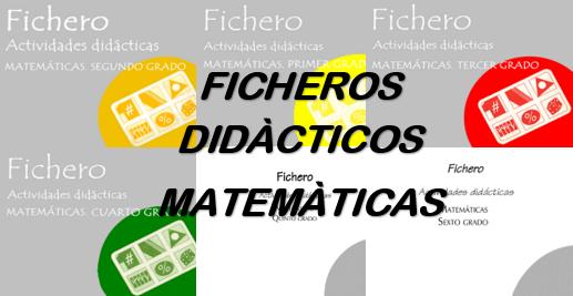 Fichero Actividades Didácticas Matemáticas 1º,2º,3º,4º,5º y 6º Primaria