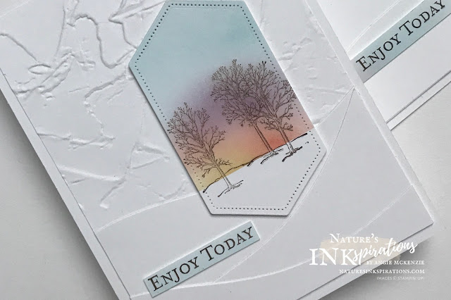 By Angie McKenzie for Ink and Inspiration Blog Hop; Click READ or VISIT to go to my blog for details! Featuring the Nature's Beauty and Good Morning America Cling Stamp Sets along with the Stitched Nested Labels Dies, the Curvy Dies and Painted Texture 3D Embossing Folder by Stampin' Up!®; #naturesbeautystampset  #curvydies #goodmorningmagnoliastampset #stitchednestedlabelsdies #paintedtexture3dembossingfolder #encouragement #occasionsscards #janjun2021minicatalog #2020annualcatalog #bloghops #inkandinspirationbloghop #iibh #stampinup #cardtechniques #inkblending #sunriseinspiration #naturesinkspirations #handcrafted #diy #handmadecards #papercrafting #offstamping