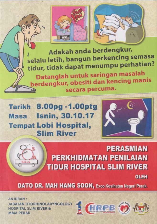 Perkhidmatan Penilaian Tidur Hospital Slim River
