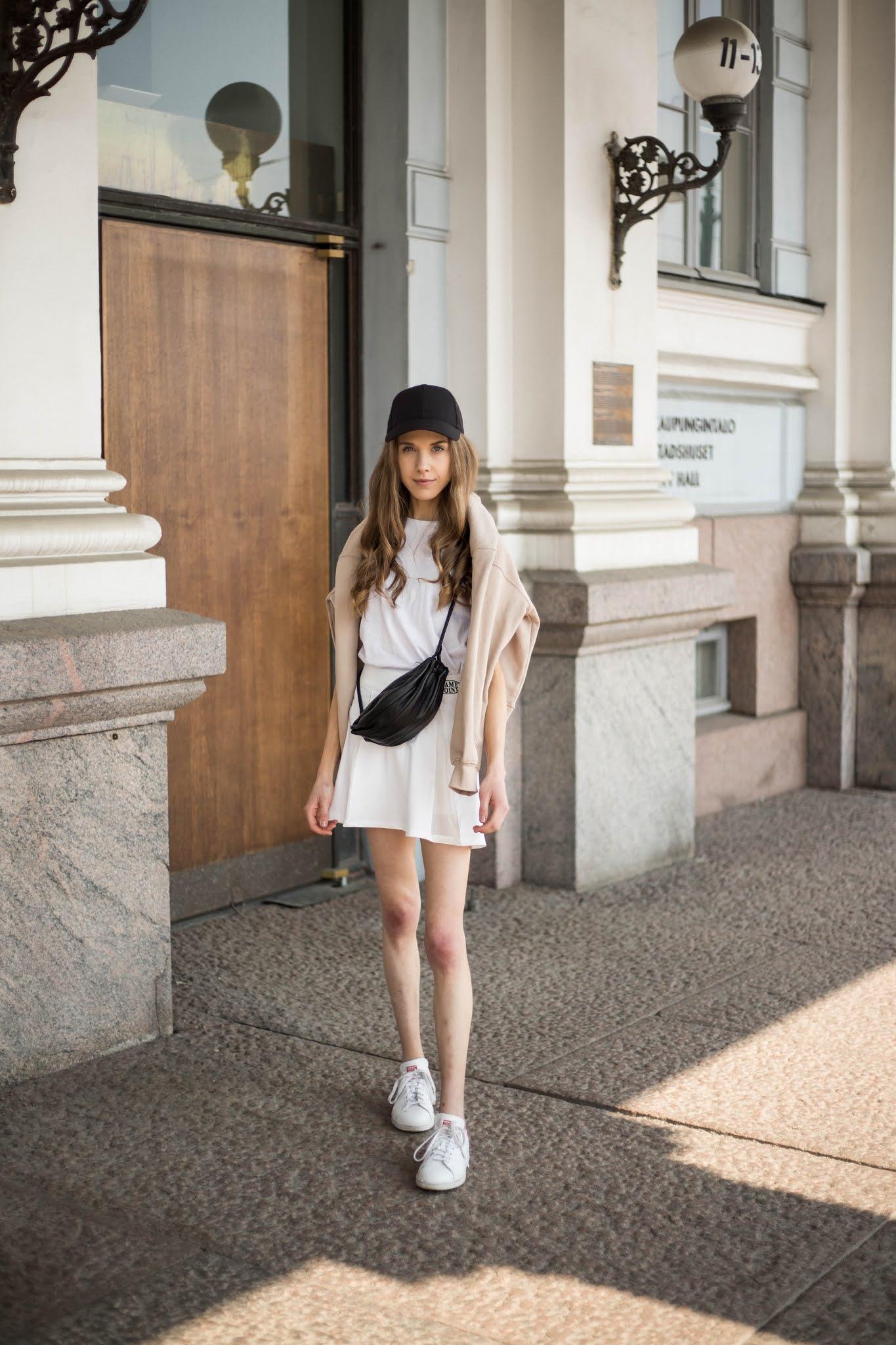 Inspiraatiota kesäpukeutumiseen, tennishame // Summer fashion inspiration, tennis skirt