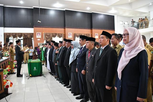 Penyegaran Struktural di Lingkup Pemkab Sinjai, 101 Pejabat Dilantik