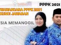 Berikut Soal Tes Wawancara PPPK 2021 dan Kunci Jawaban