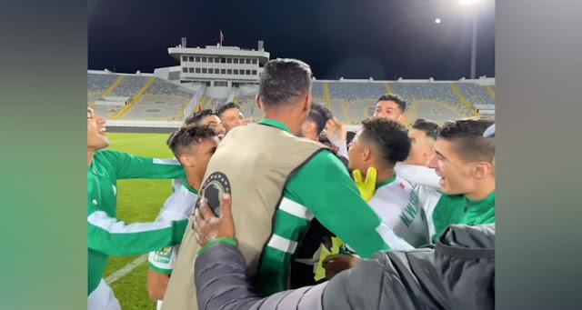 الرجاء بدون 3 لاعبين في نهائي كأس محمد السادس أمام الاتحاد السعودي