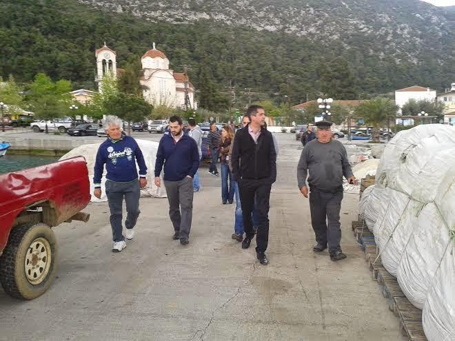 Επίσκεψη Υποψηφίου Περιφερειάρχη Στερεάς Ελλάδας, Κώστα Μπακογιάννη στη Βόρεια Εύβοια