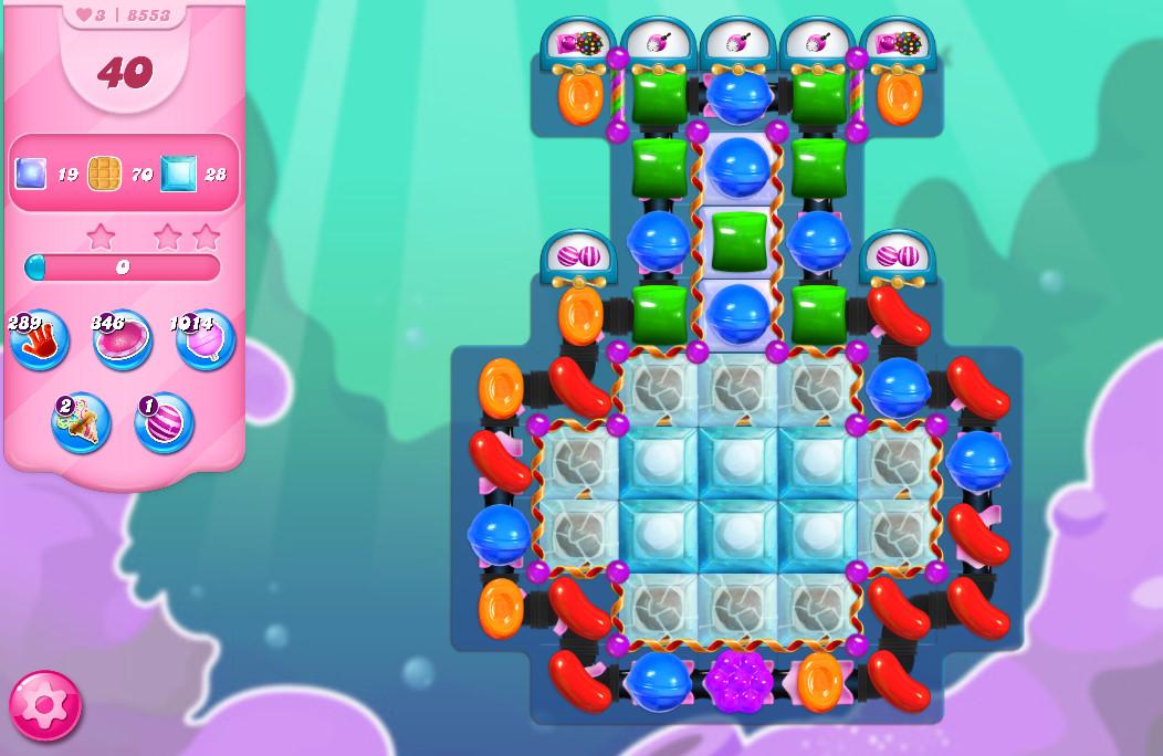 Candy Crush Saga level 8553