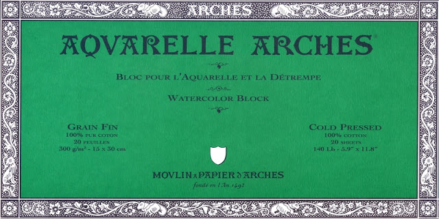 Carta per acquerello Arches