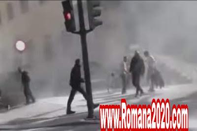مغربي يحرق جسده أمام مقر للشرطة الإسبانية اخبار المغرب