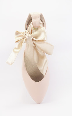 Sala Chaussures 'Ekaterina' Gala Ballet Flats in blush