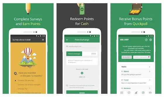 Aplikasi survey online penghasil pulsa gratis SurveyOn