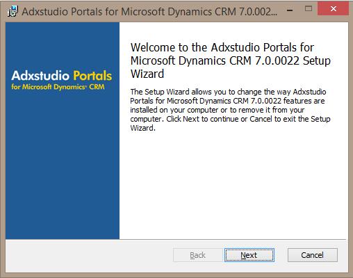AdxStudio Portal