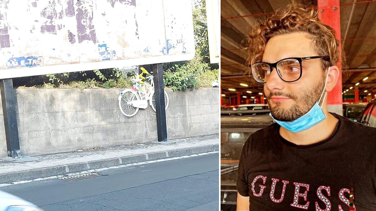 Joshua La Rosa bici bianca fantasma