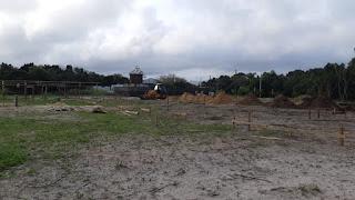 Ilha inicia obras da creche escola no balneário Porto Velho