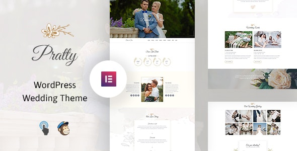 wedding website wordpress theme