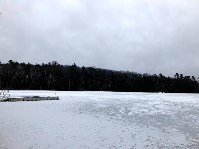 Silent Lake Provincial Park winter