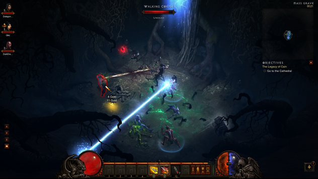 Diablo III is a fantasy action RPG that continues the land of Sanctuary's battle against a reoccurring demonic evil, and provides players around the world with the opportunity to create the ultimate hero...