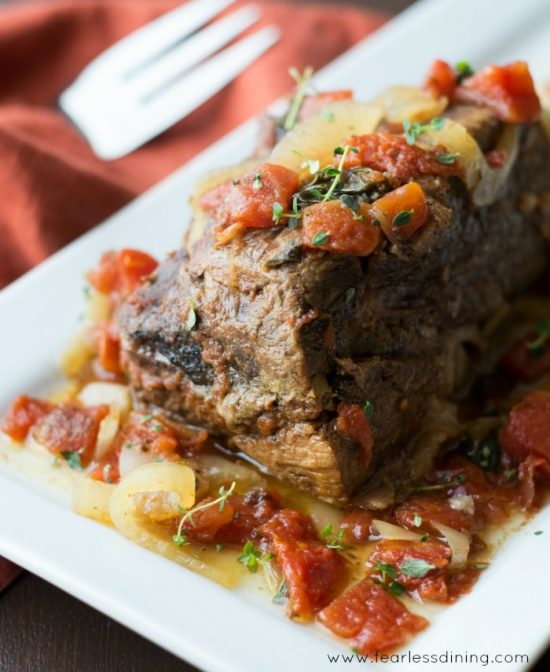 Quick and Easy 5-Ingredient Crock-Pot Roast