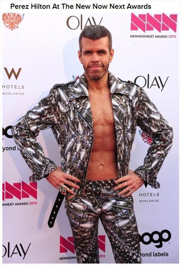 Celebrities Who Wearing Bizarre Outfits on Red Carpets (36 Images)