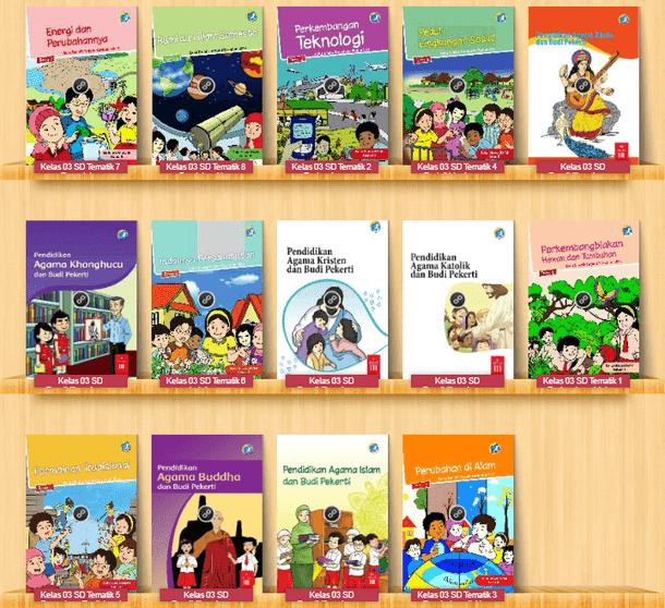Buku Siswa SD Kelas III (3) Kurikulum 2013