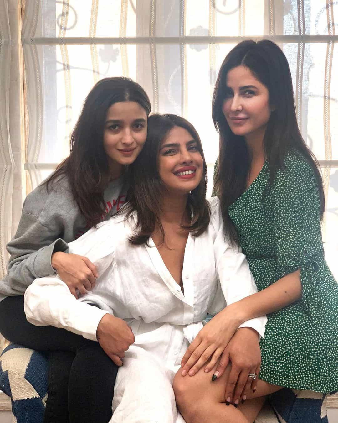 Actress Gossips: Alia, Katrina, Priyanka Can't Stop Talking About their Road Trip